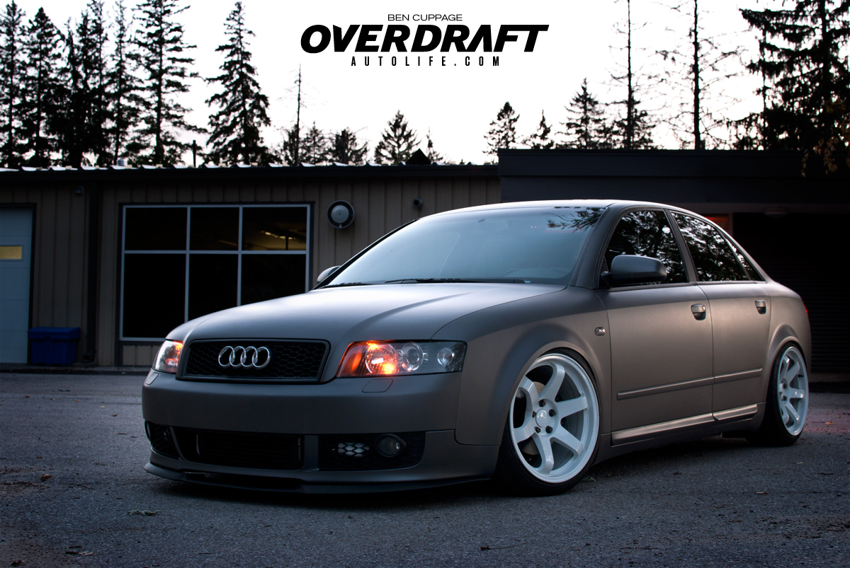 Never Gunna Give You Up | Stanced Audi A4 - Overdraft Auto ...