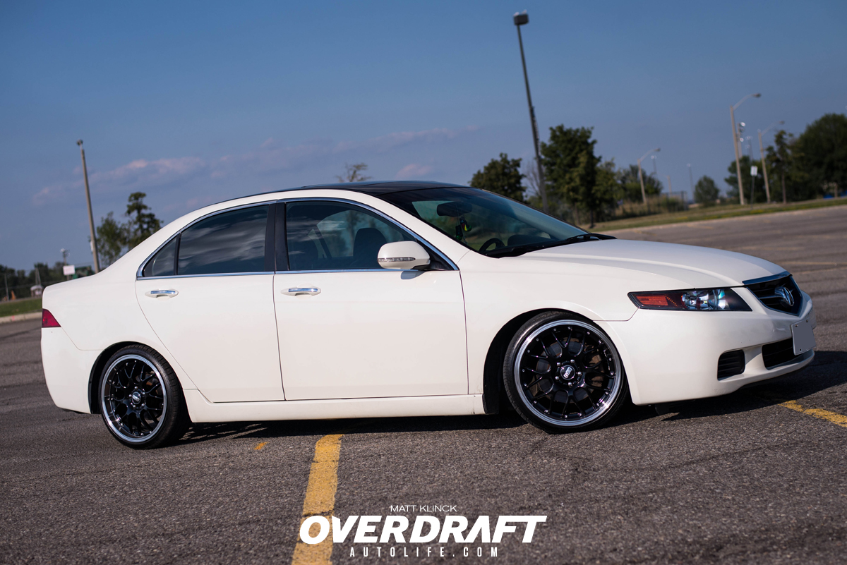 The First Degree: Deven's Acura TSX - Overdraft Auto LifeOverdraft Auto Life